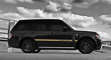 gt side stripe decal set for land rover Range Rover new