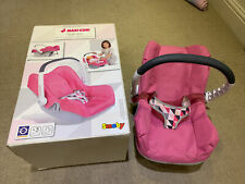 More details for boxed maxi-cosi dolls car seat adjustable handle folds down easy for storage