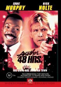 Another 48 Hours DVD 1990 Eddie Murphy Movie Nick Nolte - WIDESCREEN - Aus Reg 4