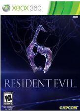 Resident Evil 6  (Xbox 360) BRAND NEW