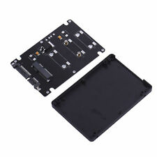 """Mini Cables Pcie mSATA SSD to 2.5"""" SATA3 Adapter Card with Case 7 mm Thickness"""