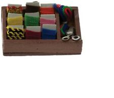 Dollhouse Miniatures 1:12 Scale Sewing Basket #IM65297