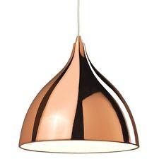 THLC Modern Polished Copper Ceiling Pendant Light