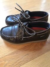 Eddie Bauer boys loafer/boat shoes, size 13