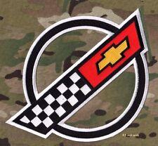 """CORVETTE RACE TEAM '84-'96 Corvette C4 FRONT HOOD NOSE EMBLEM LOGO 3.5"""" 2 pcs"""