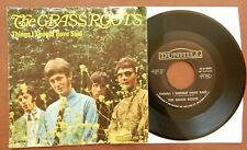 GRASS ROOTS Things I Should Have Said NM Dunhill 45 rpm PS Grassroots 1967