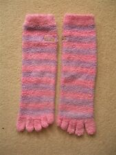 PAIR of COSY TOE SOCKS : ELLE : ONE SIZE