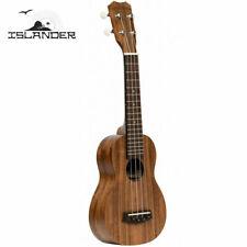 Islander by Kanile'a Acacia Series Satin Finish Soprano Ukulele w Aquila Strings