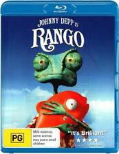 Rango  - BLU-RAY - NEW Region B