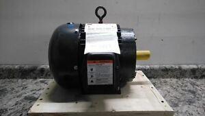 Dayton 2MXU4A 3 HP 1760 RPM 230/460VAC 3-Phase General Purpose Motor