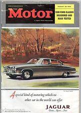 """ THE MOTOR "" MAGAZINE . AUGUST 1962."