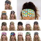 Women Hair Band Boho Turban Wide Sports Yoga Headband Stretch Hairband Elastic