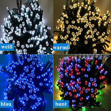 Solar Lichterkette Weihnachten 100-500 LED Weihnachtsbaumkette Party Deko IP44