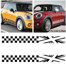 1 COPPIA Durevole Mini Auto SUV PORTA i lati del reticolo Adesivi Decalcomania Car-Styling Decor