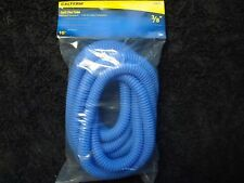 "3/8"" 10ft CALTERM YAMAHA BLUE SPLIT SEAM  FLEXIBLE WIRE CABLE LOOM TUBING WRAP"