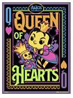 Funko Alice In Wonderland Black Light Poster - Queen Of Hearts