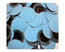 "Roloc Grinding Sanding Disc 2"" 36 Grit Zirconia (ZA) Blue Industrial 50pc 714q50"