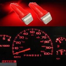 20 Pcs T5 74 37 70 79 5050 1 SMD Car Dashboard Gauge Side LED Light 12V Red #GF