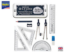Helix OxFord Set Of Mathematical Instruments Compasses Rules