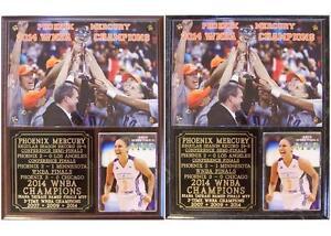 Phoenix Mercury 2014 WNBA Champions Diana Taurasi MVP Photo Plaque