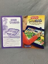 Fisher Price Power Touch Instruction Manual & Parents Guide Book Free Shipping