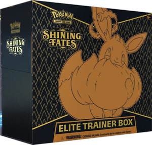 Pokemon Shining Fates Elite Trainer Box | New & Sealed | In Stock