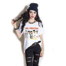 One Direction Ladies Fashion Tee: Individual Shots with Cut-outs