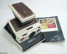 Polaroid SX-70 Land Camera Model 2 white folding instant camera