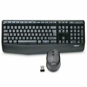 Logitech - Wireless Combo MK345 Keyboard and Optical Mouse (FRENCH CDN LAYOUT)