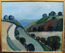 "Kjell Högström *1930, ""Glumslövs Hinterland"", um 1960/70"