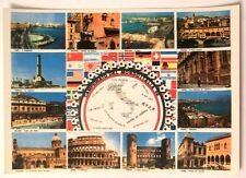 Cartolina Campionato Del Mondo Italia 90 - Foto Città Ospitanti
