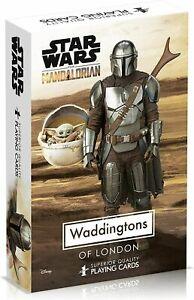 Star Wars The Mandalorian Waddingtons Number 1 Playing Cards Game