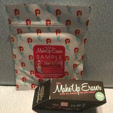 MakeUp Eraser Lot Of 2 Mini Black & Original Erase Cosmetics with Just Water New