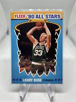1990 Fleer All Star Larry Bird 2 Boston Celtics Hall Of Fame HOF 🔥🔥🔥
