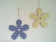 20 cm Holzblume zum Hängen  Zimmerdeko  Fensterdeko