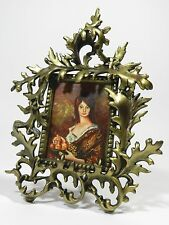 Antique French Bronze Picture Frame Rococo