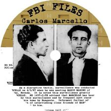 """Carlos Marcello """"The Godfather of New Orleans"""" FBI Files/Investigative Materials"""