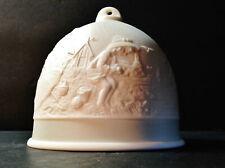 Summer Bell - 1992 Lladro Collector's Society Four Seasons Porcelain Bell - Nib