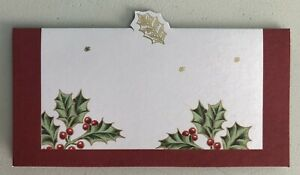 Lenox TREASURED TRADITIONS 10 Deluxe Place Cards Set C. R. Gibson XCW-14844