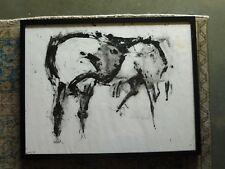 INCREDIBLE HORSE PAINTING WATERCOLOR BY NEITH NEVELSON #2