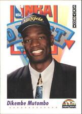 Dikembe Mutombo Rookie Card #516 Skybox 1991/92 NBA Basketball Card RC