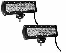 2x 9inch Led Light Bar 54W Led Work Light Flood Spot Combo