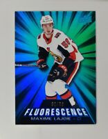 2018-19 18-19 UD Upper Deck Series 2 Fluorescence Blue #F-31 Maxime Lajoie /50