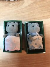 Calico Critters Vintage Rare Evergreen Bear Twins