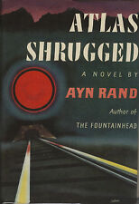 ATLAS SHRUGGED-AYN RAND-1ST/1ST 1957-W/DUST JACKET-SUPERIOR COLLECTIBLE!