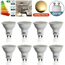 8x GU10 6W Dimmable SMD LED Bulbs Spotlight Reflector Lamp Warm White Down Light