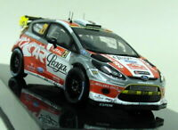 Ixo 1/43 Scale - RAM499 Ford Fiesta RS WRC #21 Monte Carlo Rally '12 Diecast Car