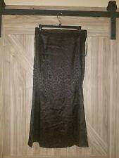 L.N.V. Black Cheetah Print Skirt Nwt Medium