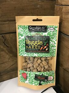 Green & Wilds Veggie Bakes Natural Dog Treats 130g