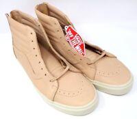 Vans SK8-Hi Zip Veggie Tan Leather/Tan VN0A34ALUI Mens 11.5